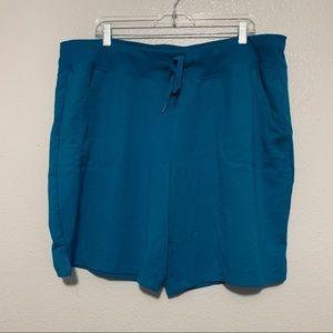 Athletic Works Turquoise Blue Shorts